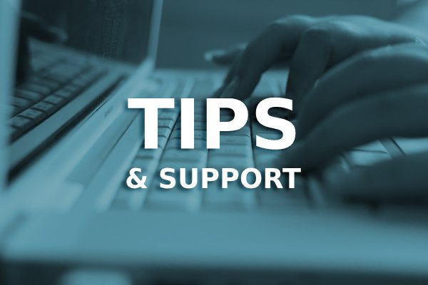 tips & support