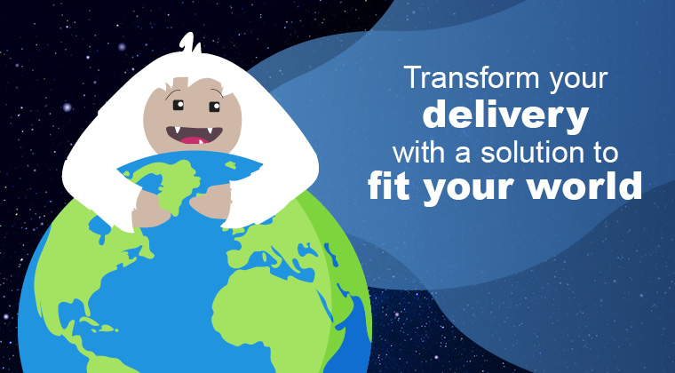 YETI Infinity – Transform your delivery with a solution to fit your world.