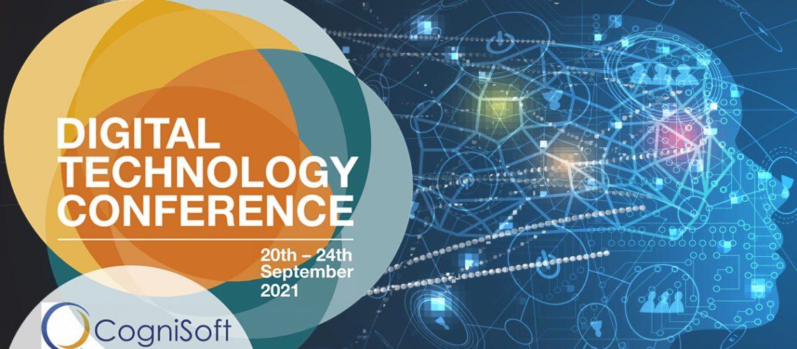 Digital Technology Conference 2021 sponsored by Cognisoft